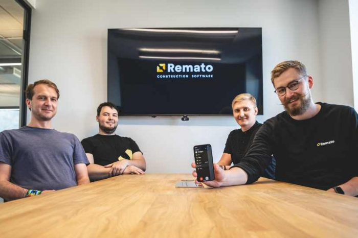 Estonia-based construction tech startup Remato raises$1.7M in funding to disrupt the $10.5 trillionglobal construction industry