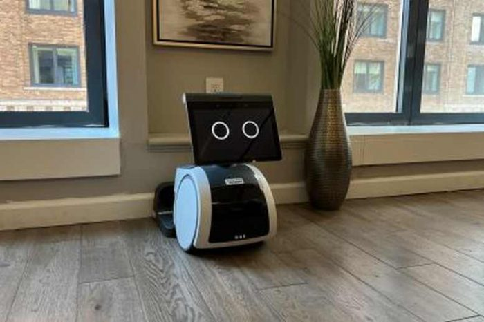 Amazon unveiled its first voice-controlled home robot called Astro; starting at $999