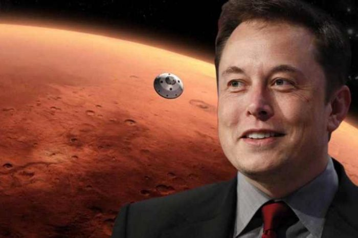 """Elon Musk talks about moving to Mars. """"There's a """"70% chance I go to Mars and there's a good chance of death"""""""