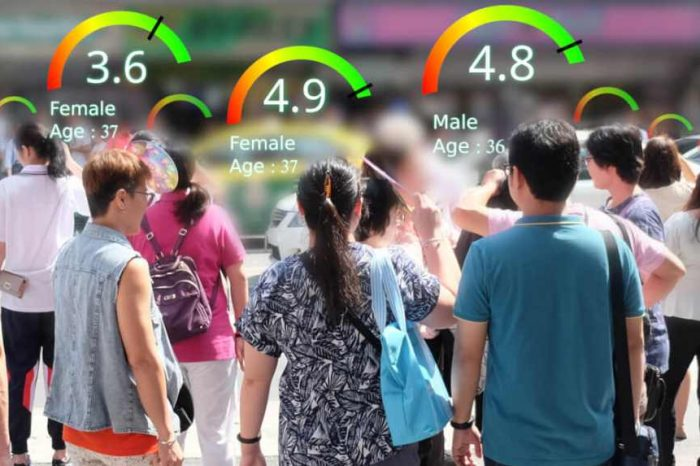 Watch how China tracks, scores, and ranks its 1.4 billion citizens in the new social credit system using AI and big data