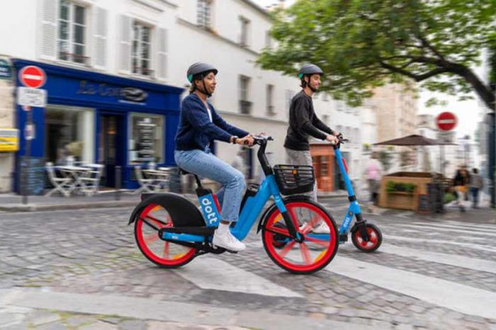 Amsterdam-based scooter startup Dott launches e-Bikes on the streets of Paris