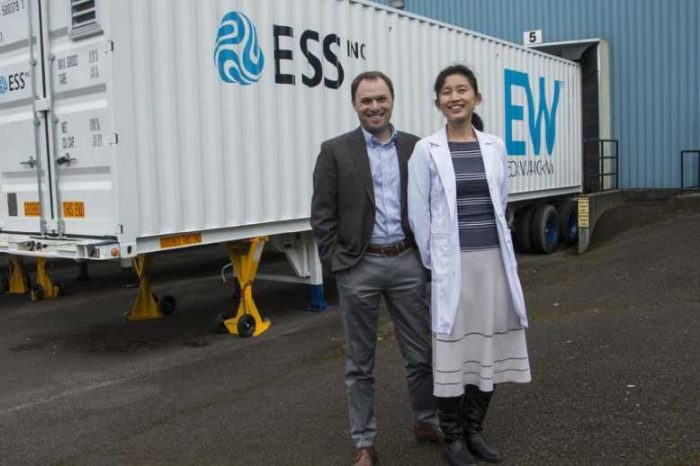 Bill Gates-backed energy storage startup ESS goes public through a $308 million SPAC deal