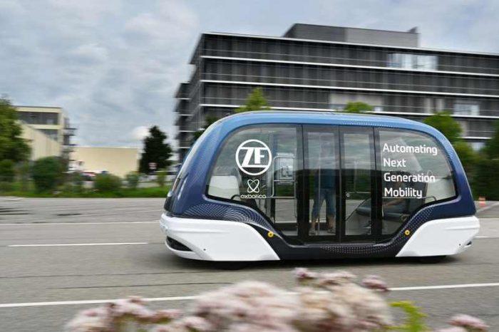 German auto supplier ZF invests in UK autonomous vehicle startup Oxbotica to develop autonomous urban shuttles