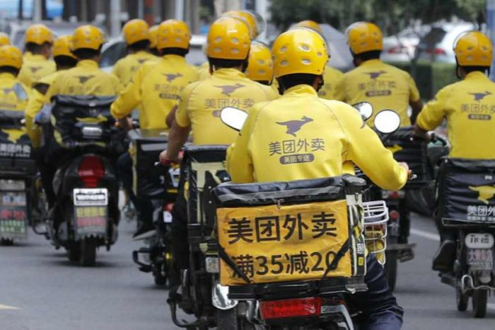 """Chinese delivery giant Meituan fined$533 million in China's tech crackdown.""""We accept the penalty with sincerity,""""Meituan says"""