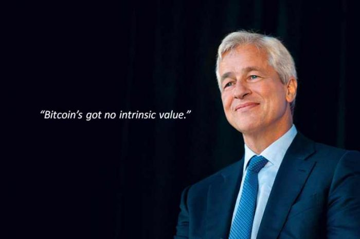 JPMorgan CEO Jamie Dimon:Bitcoin has no value and authorities will soon 'regulate the hell out of it'