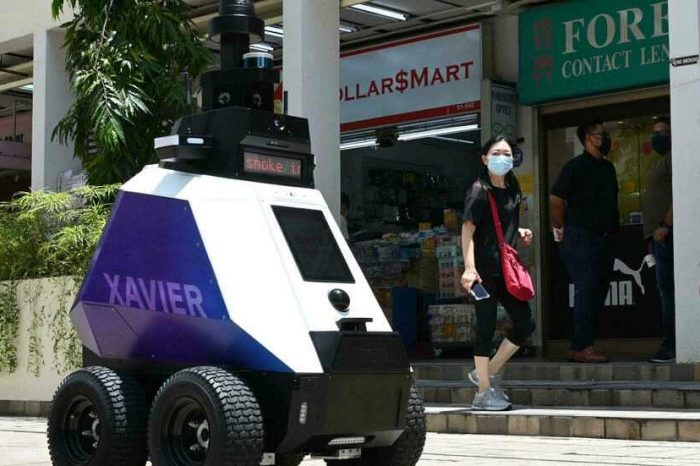 Meet Xavier, The new Singapore robot that patrols the streets for 'anti-social behavior' stoking fears ofsurveillance state
