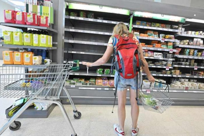 Shortage of carbon dioxide causing food shortages and mass disruption to food supplies in the UK
